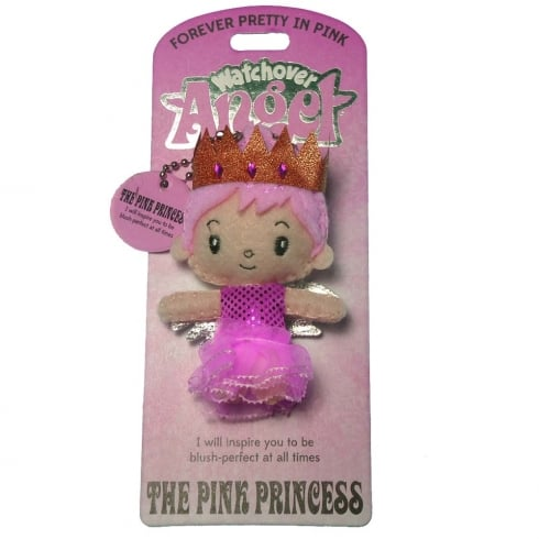 Watchover Angels The Pink Princess Angel Keyring