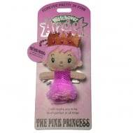 The Pink Princess Angel Keyring