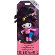 The Shopaholic Voodoo Keyring
