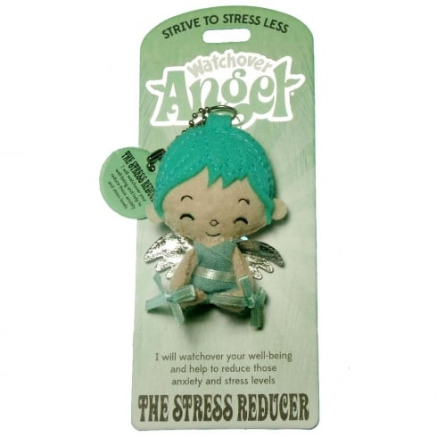 Watchover Angels The Stress Reducer Angel Keyring