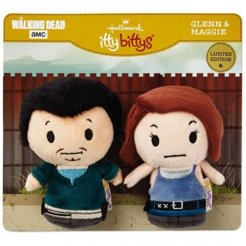 Hallmark Itty Bittys The Walking Dead Glenn and Maggie Set of 2 US Edition