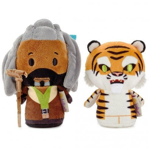 Hallmark Itty Bittys The Walking Dead King Ezekiel and Shiva Plush Set of 2 US Edition