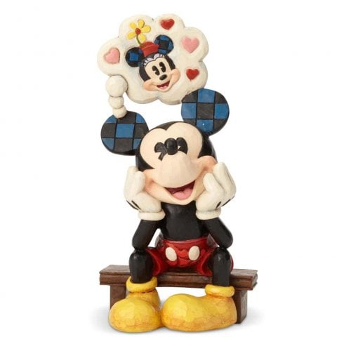 Disney Traditions Thinking Of You Mickey Figurine