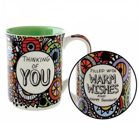 Our Name Is Mud Thinking Of You Mug