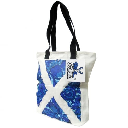 Robin Ruth This Is Scotland Saltire Tote Bag