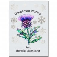 Thistle Christmas Card