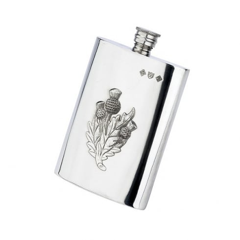 Hamilton & Young Thistle Hipflask