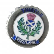 Thistle Magnet Bottle Opener