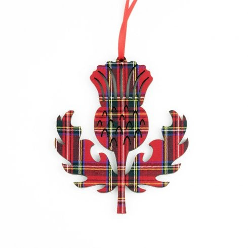 Artcuts Thistle Royal Stewart Hanging Decoration