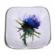 Thistle Square Bowl 16cm