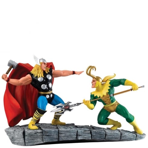 Marvel by Enesco Thor VS Loki Figurine