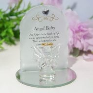 Thoughts Of You Angel Plaque - Baby