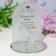 Thoughts Of You Angel Plaque - Mum