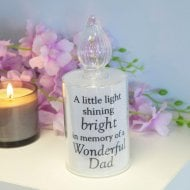 Thoughts Of You Memorial LED Candle Light - Dad