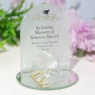 Thoughts Of You Rose Plaque - Someone Special