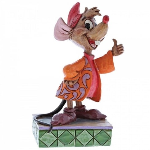 Disney Traditions Thumbs Up Jaq Figurine