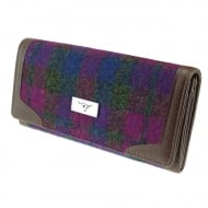 Tiree Purse - Heather Check