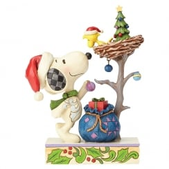 """Tis The Season"" Snoopy & Woodstock Christmas Figurine"