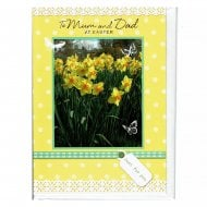 To Mum and Dad At Easter Greeting Card