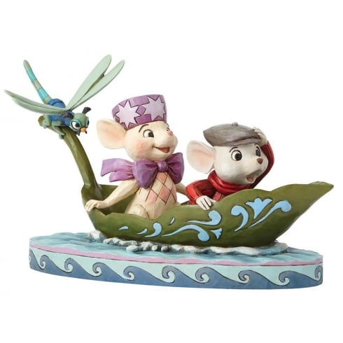Disney Traditions To The Rescue Bernard & Bianca Figurine
