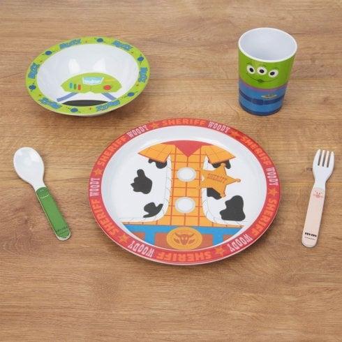 Widdop Bingham Toy Story 4 Piece Melamine Set