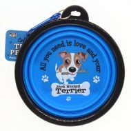 Travel Pet Bowl - Jack Russell Terrier