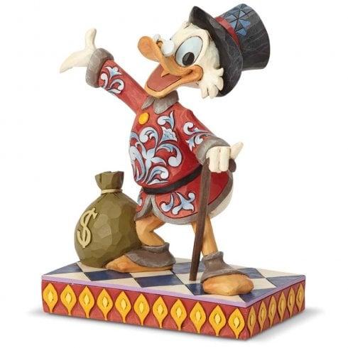 Disney Traditions Treasure Seeking Tycoon Scrooge Figurine