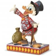 Treasure Seeking Tycoon Scrooge Figurine