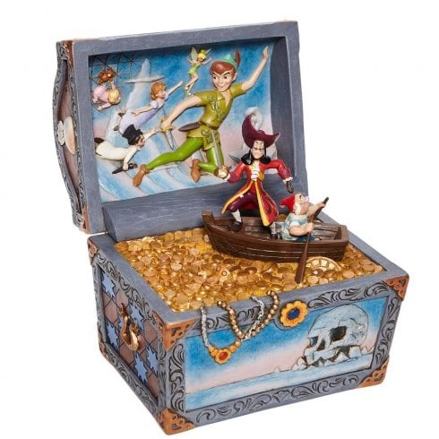 Disney Traditions Treasure-strewn Tableau Peter Pan Figurine