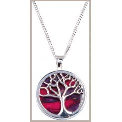 Tree Of Life Plated Pendant