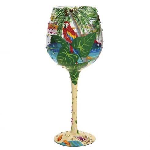 Lolita Tropical Dream Wine Glass