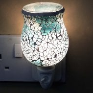 Tulip Teal Mosaic Wax warmer