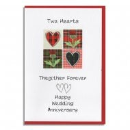 Twa Hearts Thegither Forever Wedding Anniversary