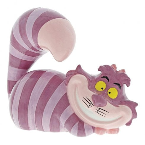 Disney Enchanting Collection Twas Brillig Cheshire Cat Bank