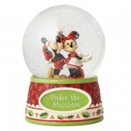 Under the Mistletoe Mickey & Minnie Waterball
