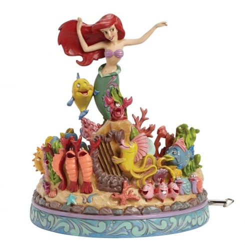 Disney Traditions Under the Sea Little Mermaid Musical Diarama