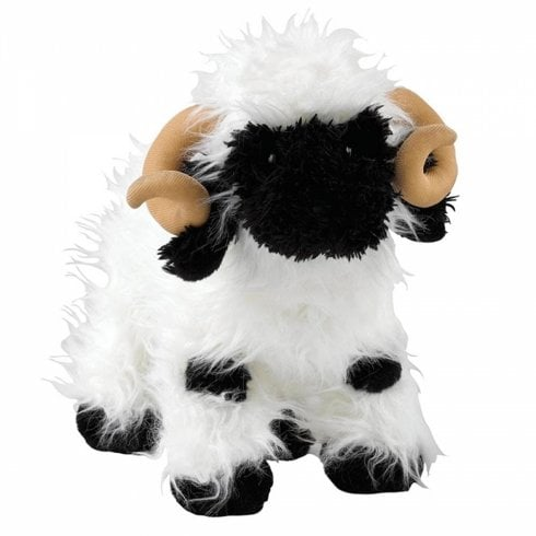 Border Fine Arts Valais Black Sheep Soft Toy - Large