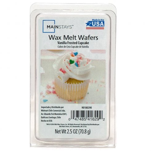 Mainstays Vanilla Frosted Cupcake Wax Melt Wafers