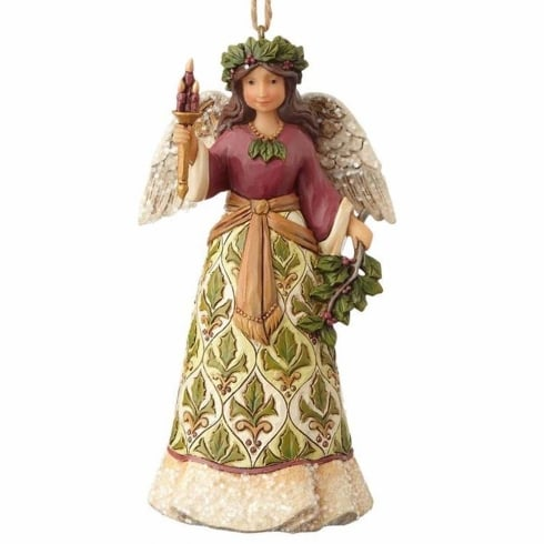 Jim Shore Heartwood Creek Victorian Angel Hanging Ornament