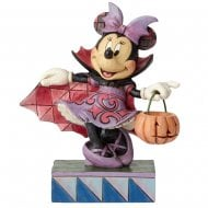 Violet Vampire Minnie Mouse Figurine