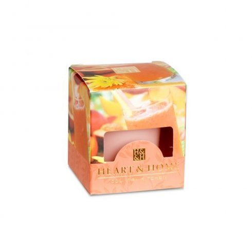 Votive Candle Peach Mango Smoothie