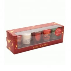 Votive Gift Set - 1 Votive Holder & 4 Candle Votives