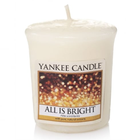 Yankee Candle Votive Sampler All is Bright