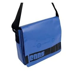 VW Messenger Bag Blue Large