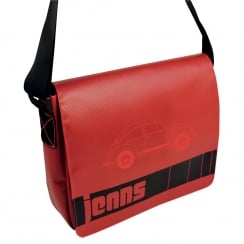 VW Messenger Bag Red Large