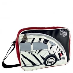 VW Shoulder Bag Beetle Zebra Red Medium