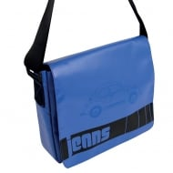VW Shoulder Bag Blue Medium