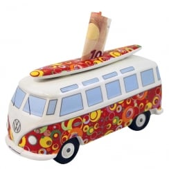VW T1 Bus Money Bank - Bubbled