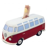VW T1 Money Bank Red