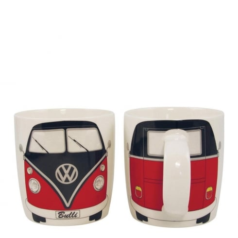 VW Collection VW TI Mug - Red /Black